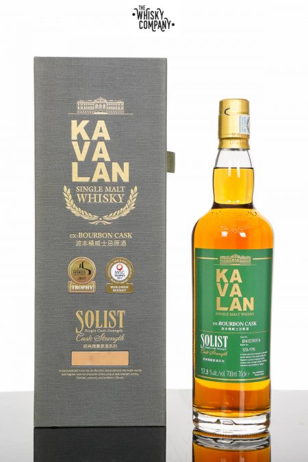 Kavalan Solist ex-Bourbon Cask Single Malt Whisky (700ml)
