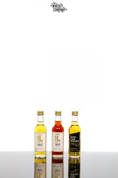 Kavalan Gift Pack Taiwanese Single Malt Whisky (3 x 50ml)
