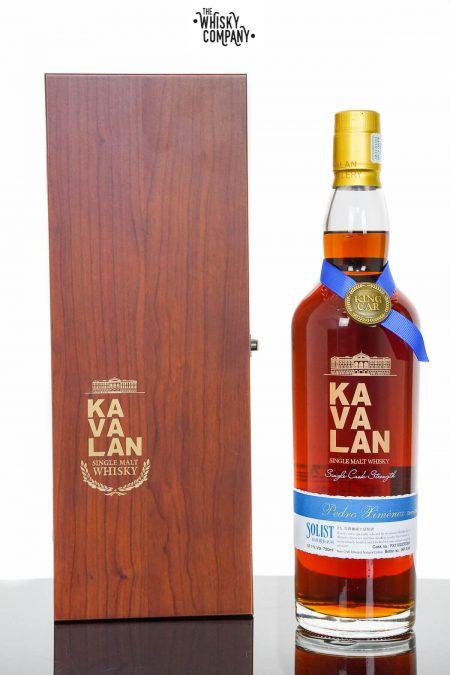 Kavalan Solist Pedro Ximenez Sherry Cask Matured Single Malt Whisky (750ml)