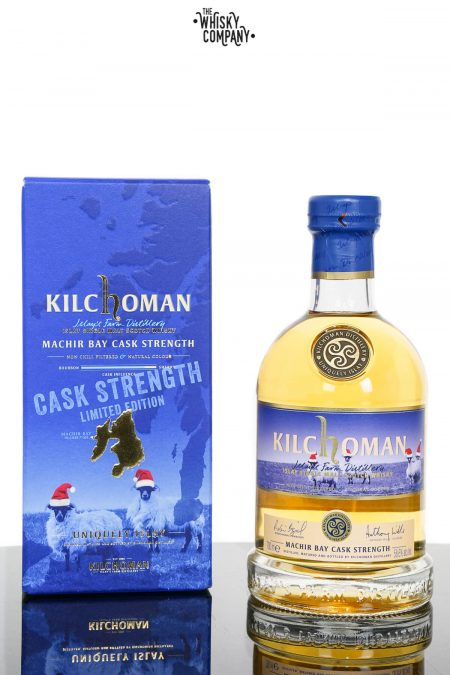 Kilchoman Machir Bay Cask Strength Islay Single Malt Scotch Whisky - Festive Edition (700ml)