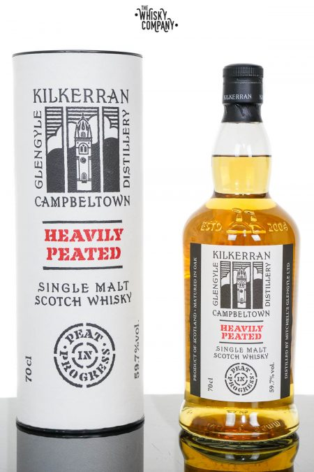 Kilkerran Heavily Peated Campbeltown Single Malt Scotch Whisky - Batch 3 (700ml)