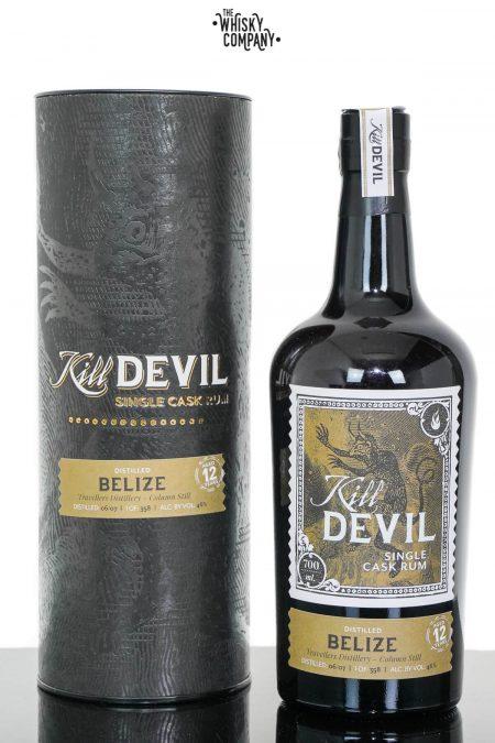 Kill Devil 12 Years Old Belize (Travellers Distillery) Single Cask Rum - Hunter Laing (700ml)
