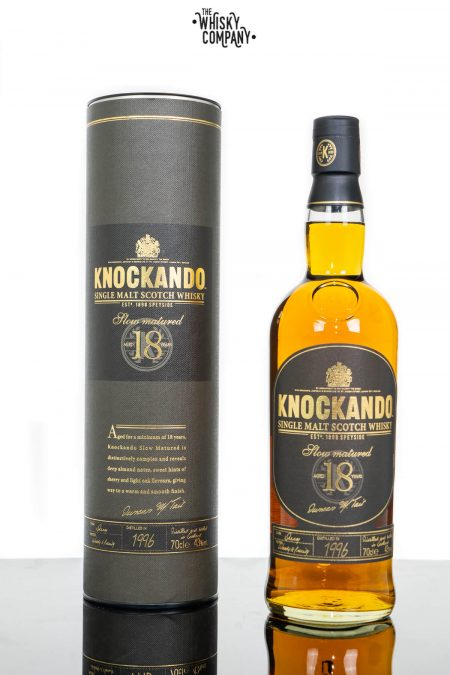 Knockando Aged 18 Years Speyside Single Malt Scotch Whisky (700ml)
