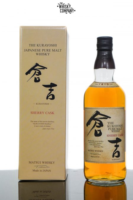 The Kurayoshi Pure Malt Sherry Cask Japanese Whisky (700ml)