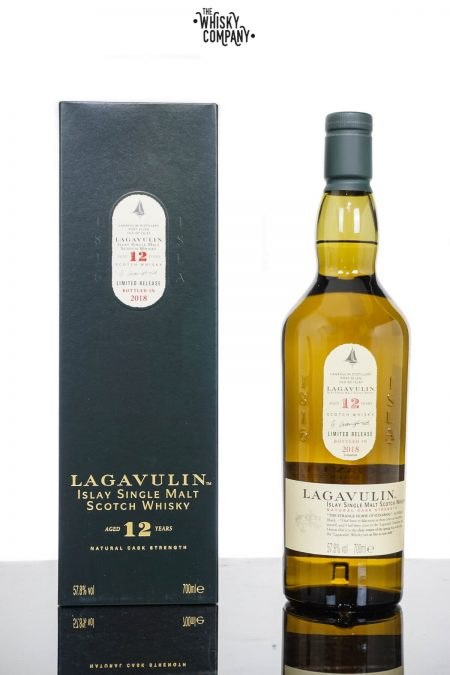 Lagavulin Aged 12 Years 2018 Release Islay Single Malt Scotch Whisky (700ml)