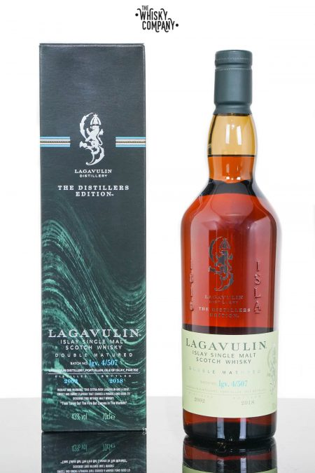 Lagavulin 2002 (Bottled 2018) Distillers Edition Islay Single Malt Scotch Whisky (700ml)
