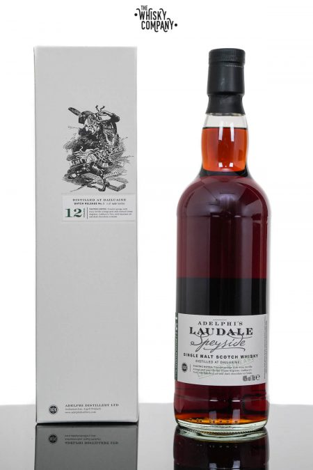 Dailuaine 12 Years Old Single Malt Scotch Whisky -  Adelphi Laudale Batch 3 (700ml)