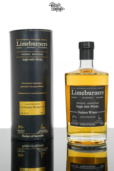 Limeburners Darkest Winter Australian Single Malt Whisky - Barrel M488 (700ml)