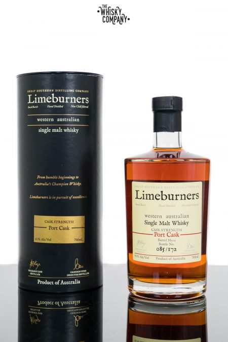 Limeburners Port Cask Cask Strength (Cask M202) Single Malt Whisky (700ml)
