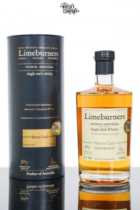 Limeburners Sherry Cask Strength Australian Single Malt Whisky (700ml)