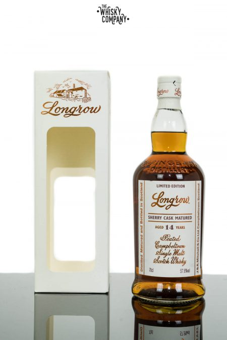 Longrow Aged 14 Years Sherry Cask Matured Campbeltown Single Malt Scotch Whisky (700ml)