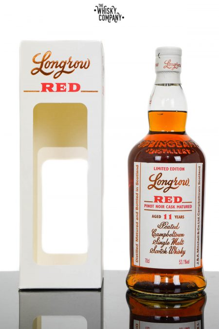 Longrow Red Aged 11 Years Red Valli Vineyard New Zealand Pinot Cask Single Malt Scotch Whisky (700ml)