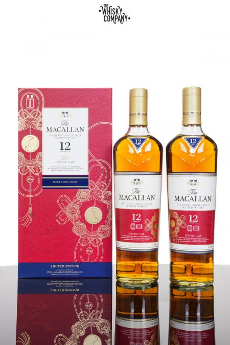 The Macallan Double Cask 12 Years Old Year Of The Rat Single Malt Scotch Whisky (2 x 700ml)