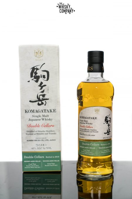 Mars Komagatake Double Cellars Japanese Whisky (700ml)