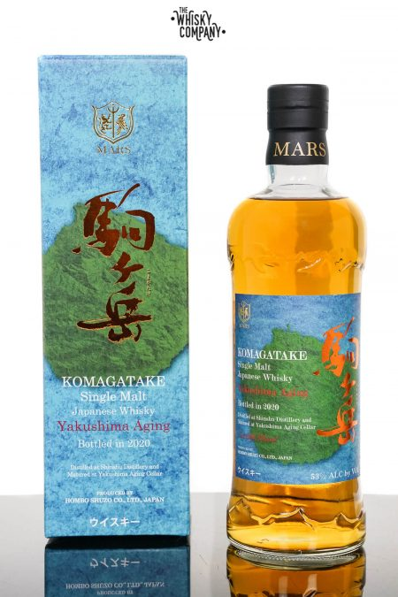 Mars Komagatake 2020 Yakushima Ageing Japanese Single Malt Whisky (700ml)