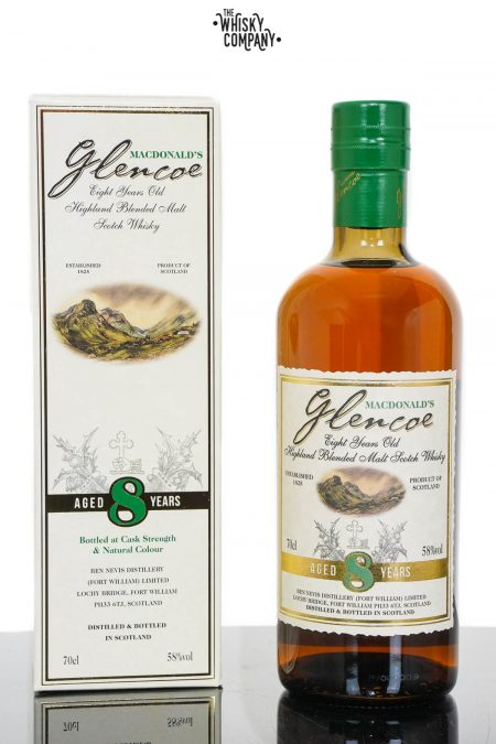 MacDonald's Glencoe 8 Years Old Blended Scotch Whisky (700ml)