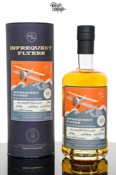Miltonduff 2009 Aged 10 Years Single Malt Scotch Whisky - Infrequent Flyers #22 (700ml)
