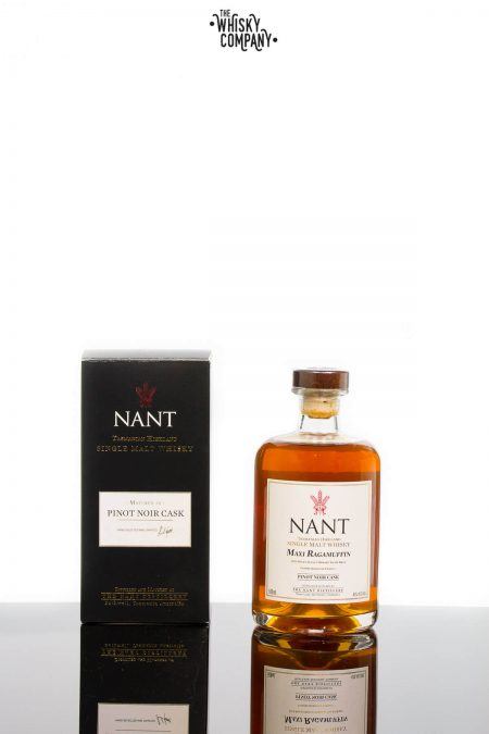Nant Pinot Noir Cask Matured Tasmanian Highland Single Malt Whisky (500ml)