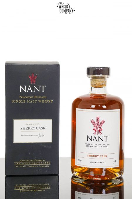 Nant Sherry Cask Matured Single Cask Tasmanian Highland Single Malt Whisky (500ml)
