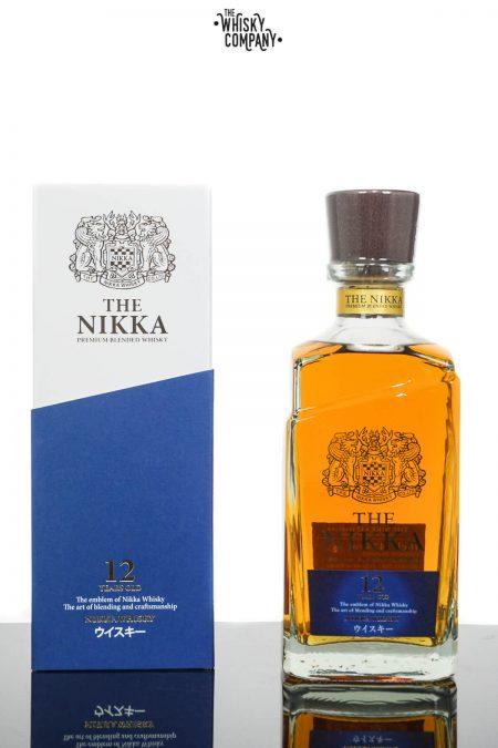 Nikka 12 Years Old Japanese Blended Whisky (700ml)
