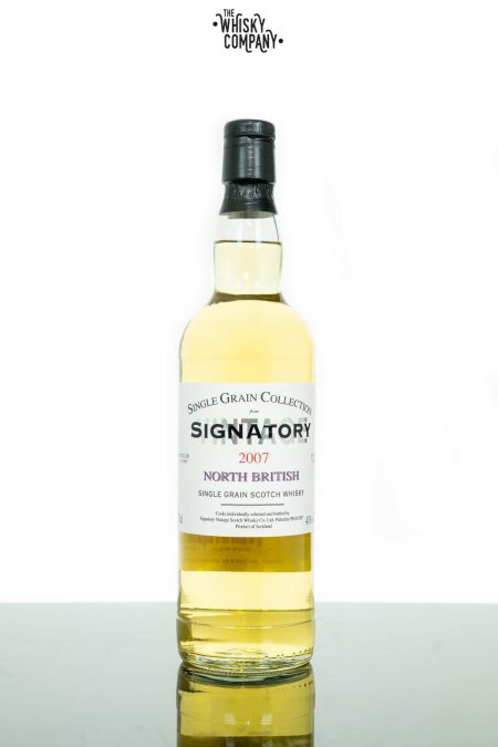 North British Grain 2007 Aged 10 Years Single Grain Scotch Whisky - Signatory Vintage (700ml)
