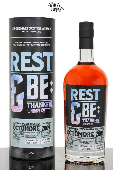 Octomore 2009 Tempranillo Cask Single Malt Scotch Whisky - Rest & Be Thankful (700ml)