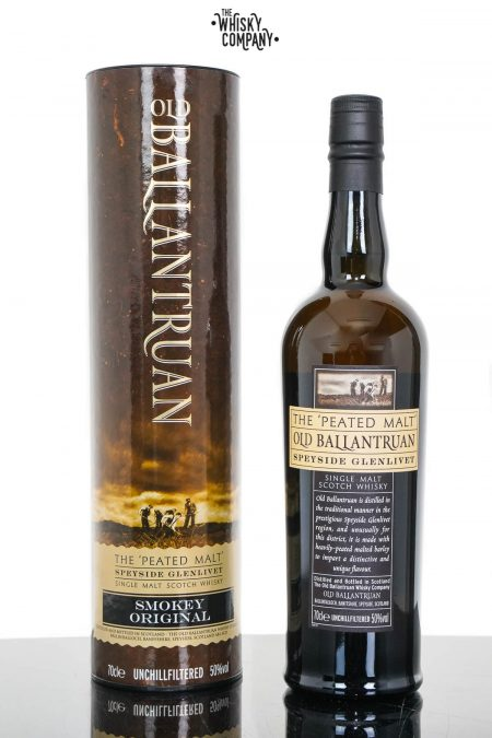 Old Ballantruan Smokey Original Peated Speyside Single Malt Scotch Whisky (700ml)