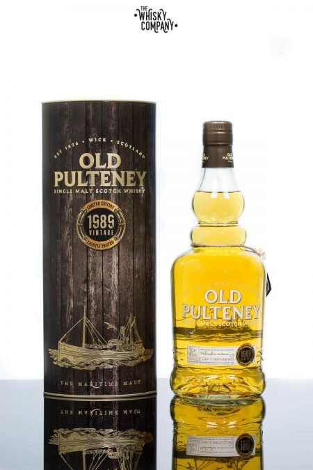 Old Pulteney 1989 Vintage Highland Single Malt Scotch Whisky (700ml)
