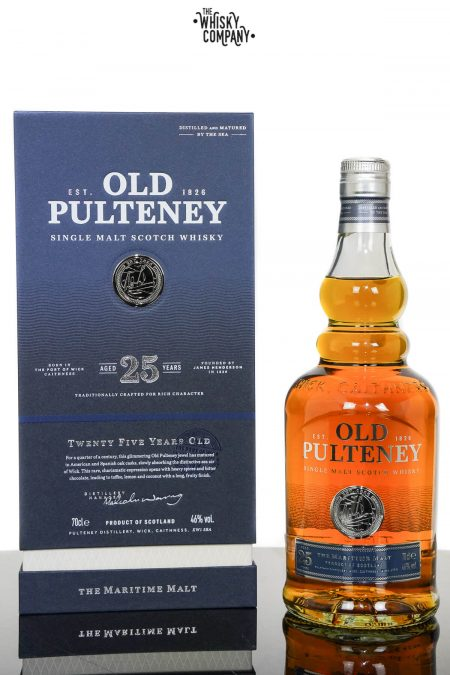 Old Pulteney Aged 25 Years Single Malt Scotch Whisky (700ml)