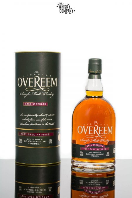 Overeem Cask Strength Port Cask Matured Tasmanian Single Malt Whisky (700ml)