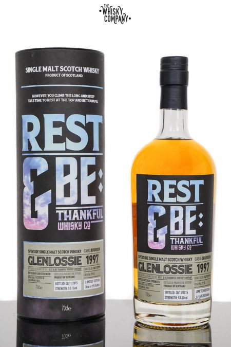 Glenlossie 1997 Aged 18 Years Single Malt Scotch Whisky - Rest and Be Thankful (700ml)