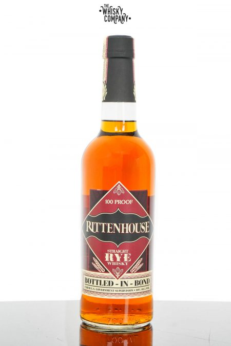 Rittenhouse 100 Proof Straight Rye Whisky (700ml)
