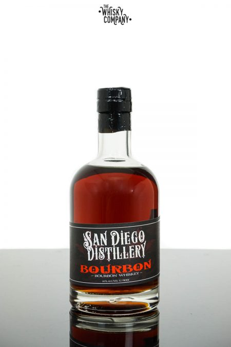 San Diego Small Batch Cask Strength American Bourbon Whiskey (375ml)