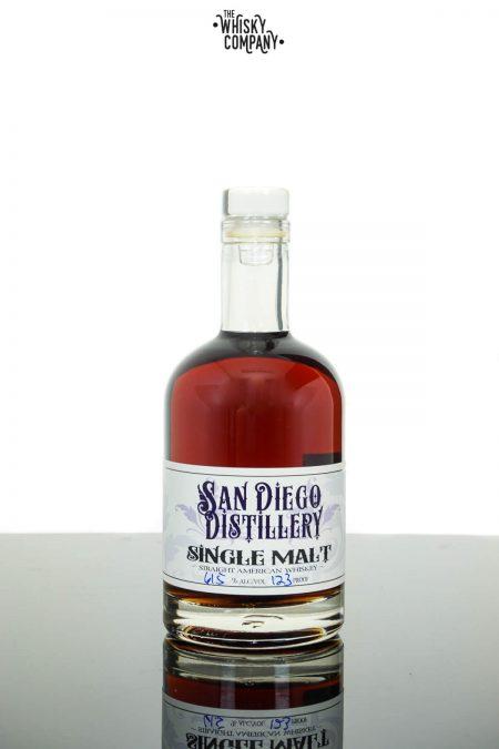 San Diego Small Batch Cask Strength American Single Malt Whiskey (375ml)