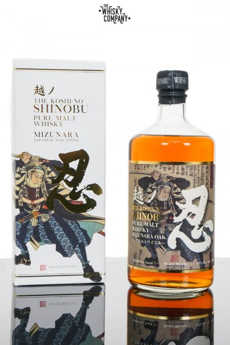 The Koshi-No Shinobu Pure Malt Japanese Whisky - Mizunara Oak (700ml)