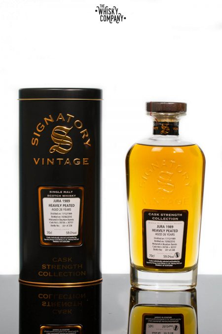 Jura 1989 Aged 26 Years Single Malt Scotch Whisky - Signatory Vintage (700ml)