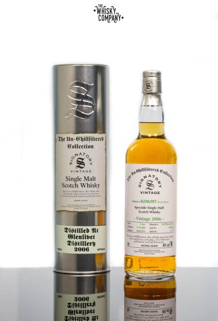 Glenlivet 2006 Aged 9 Years Single Malt Scotch Whisky - Signatory Vintage (700ml)