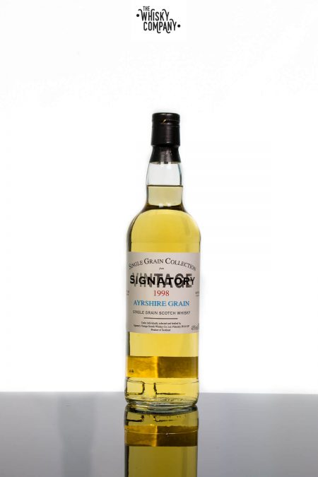 Ayrshire Grain 1998 Aged 17 Years Single Grain Scotch Whisky - Signatory Vintage (700ml)
