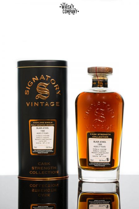 Blair Athol 1988 Aged 27 Years Single Malt Scotch Whisky - Signatory Vintage (700ml)