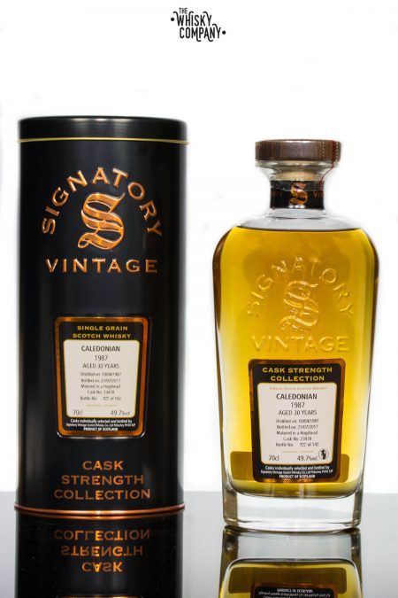Caledonia 1987 Aged 30 Years Single Malt Scotch Whisky - Signatory Vintage (700ml)