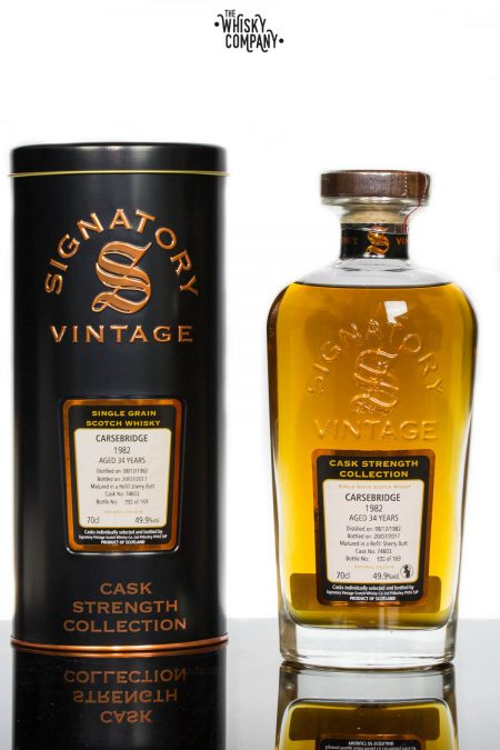 Carsebridge 1982 Aged 34 Years Single Grain Scotch Whisky  - Signatory Vintage (700ml)