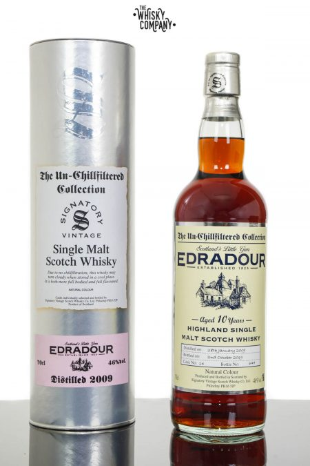 Edradour 2009 Aged 10 Years UCF Highland Single Malt Scotch Whisky - Signatory Vintage (700ml)