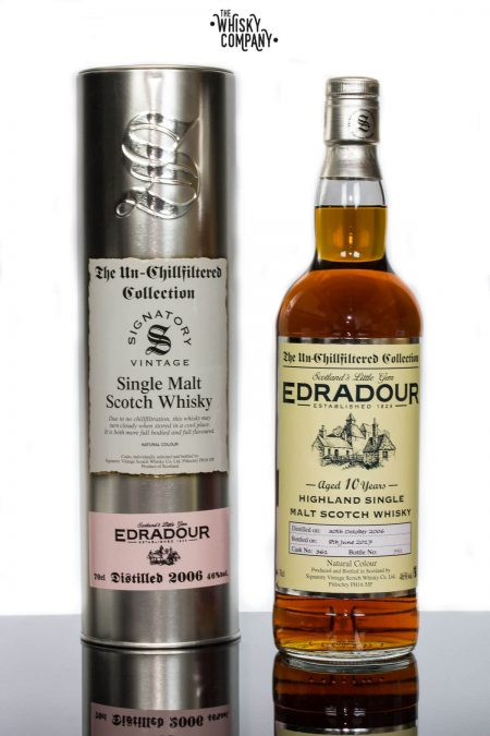 Edradour 2006 Aged 10 Years Single Malt Scotch Whisky - Signatory Vintage (700ml)