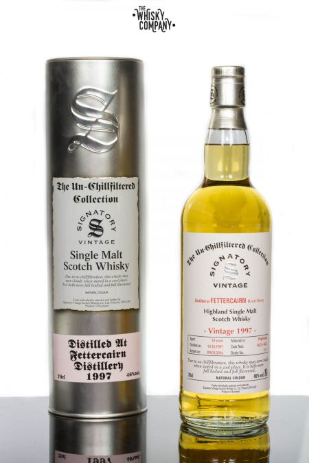 Fettercairn 1997 Aged 18 Years Single Malt Scotch Whisky - Signatory Vintage (700ml)