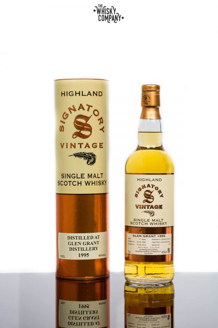 Glen Grant 1995 Aged 21 Years Single Malt Scotch Whisky - Signatory Vintage (700ml)