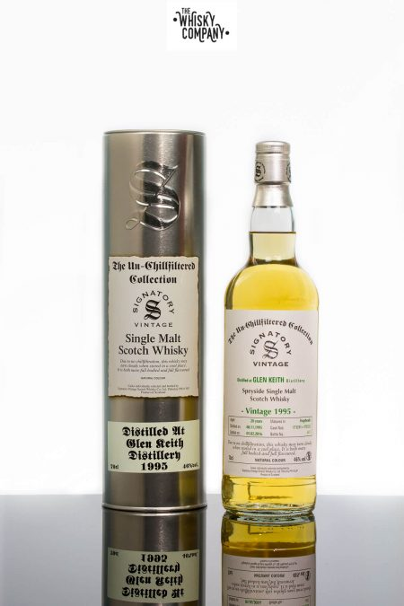 Glen Keith 1995 Aged 20 Years Single Malt Scotch Whisky - Signatory Vintage (700ml)