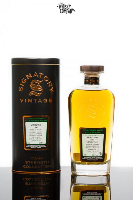 Mortlach 1991 Aged 25 Years Single Malt Scotch Whisky - Signatory Vintage (700ml)