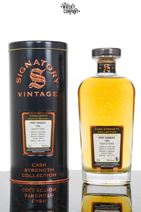 Port Dundas 1996 Aged 22 Years Single Grain Scotch Whisky - Signatory Vintage (700ml)