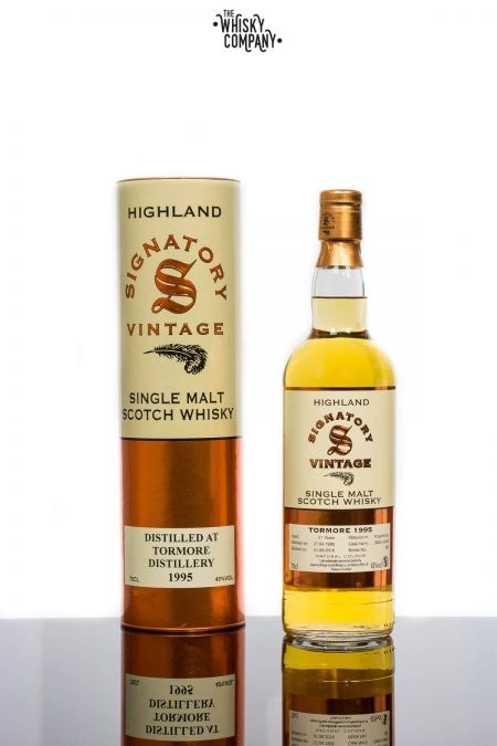 Tormore 1995 Aged 21 Years Single Malt Scotch Whisky - Signatory Vintage (700ml)
