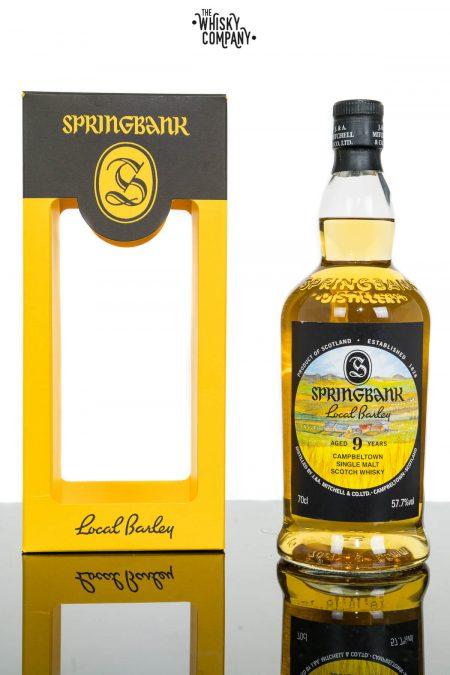 Springbank Local Barley Aged 9 Years Campbeltown Single Malt Scotch Whisky (700ml)